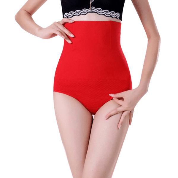 Culotte amincissante rouge