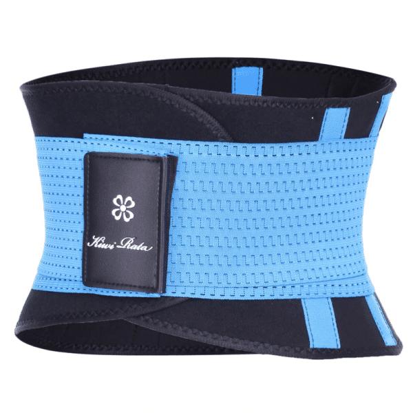 ceinture de sudation bleu