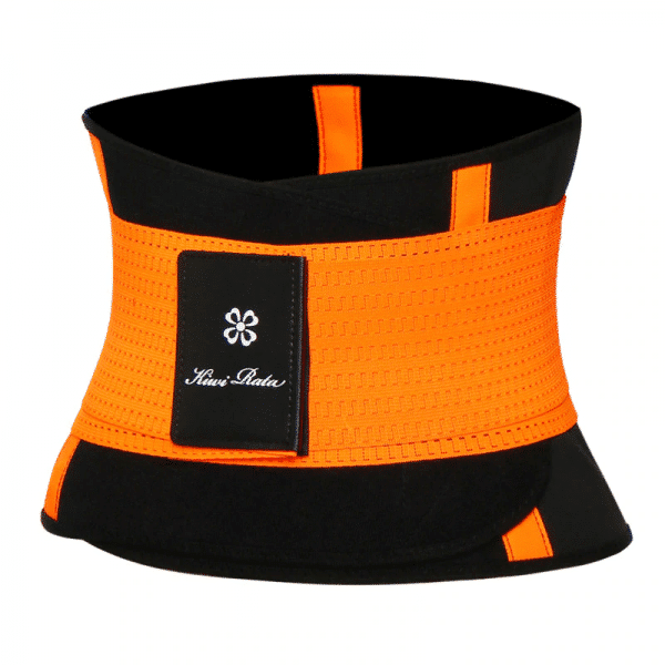 ceinture de sudation orange