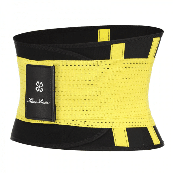ceinture de sudation jaune