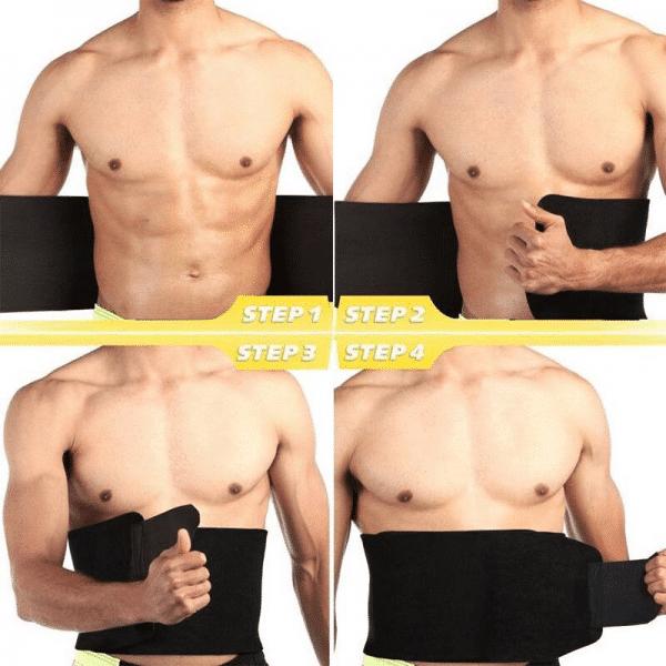 ceinture de sudation homme