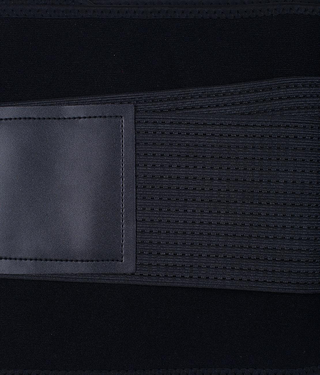 Ceinture de Sudation Noire Packshot Detail 1