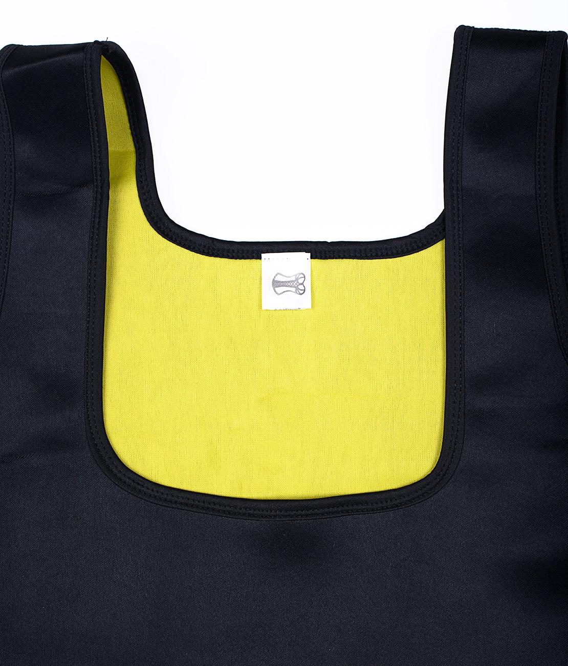 T-Shirt de sudation Noir Packshot Detail 1