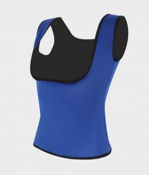 T shirt de sudation bleu