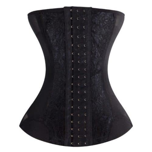 corset minceur noir