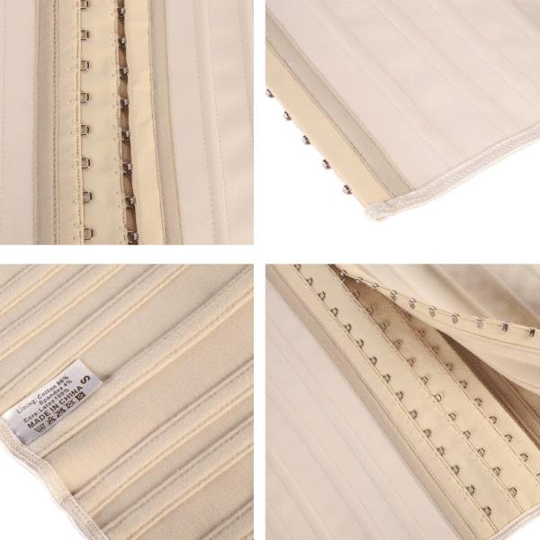Corset Latex details