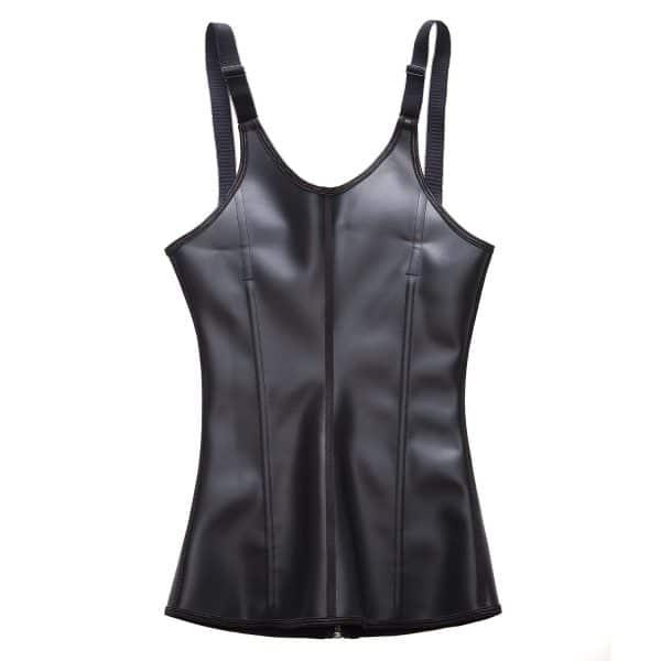 corset latex remodelant noir