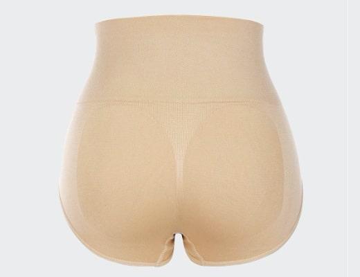 Culotte Taille Haute beige 520 detail
