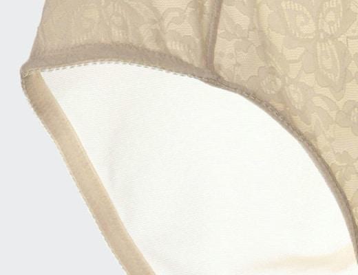 culotte gainante dentelle beige 520 detail b