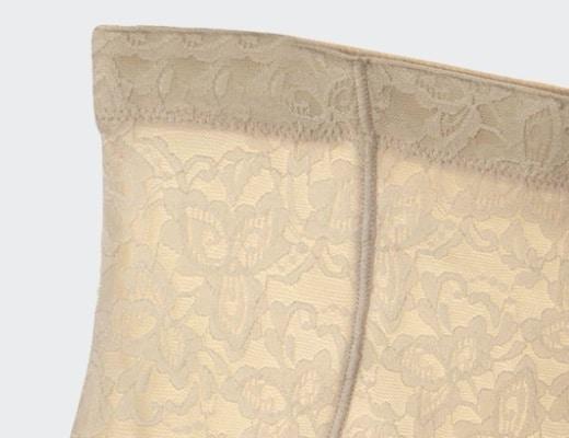 culotte gainante dentelle beige 520 detail c