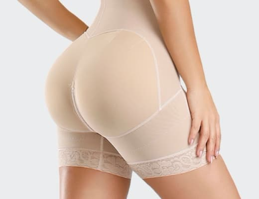 combi gaine dentelle beige 520 detail