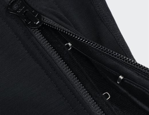 combinaison gainante noire 520 detail