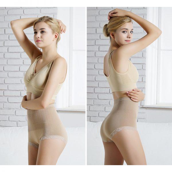 culotte gainante invisible beige foncee