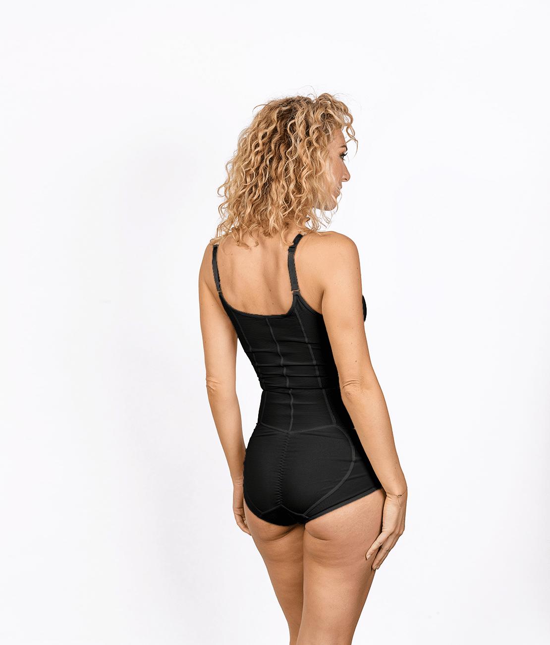 Body Gainant Noir trois quart