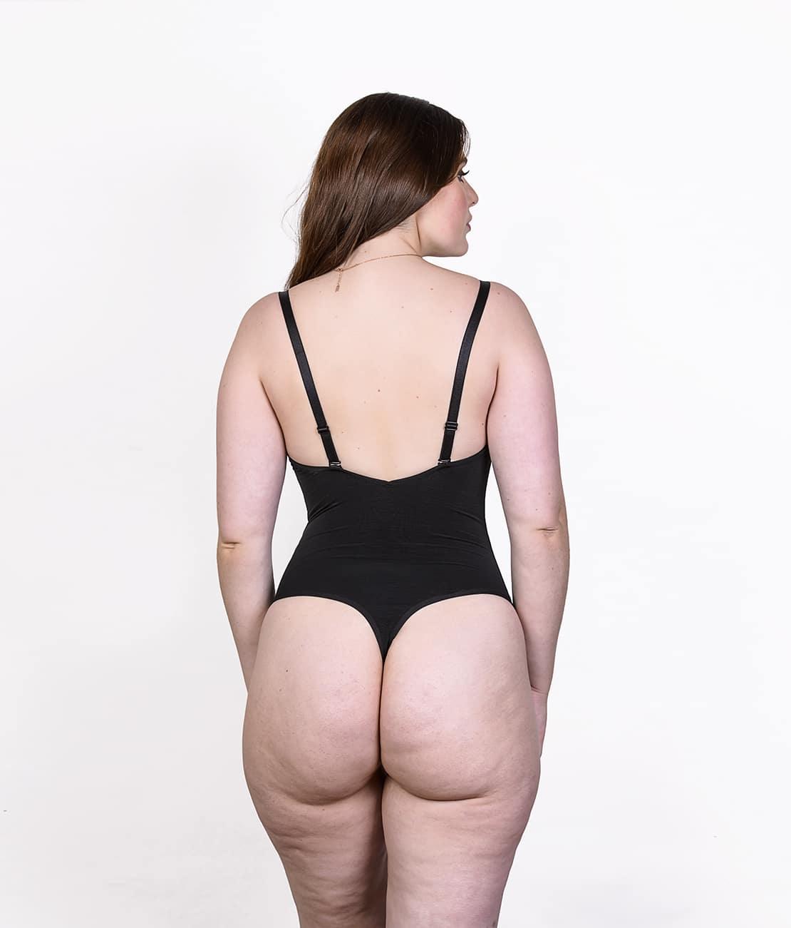 Body String Femme Noir
