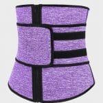 Ceinture de sudation multisport violet