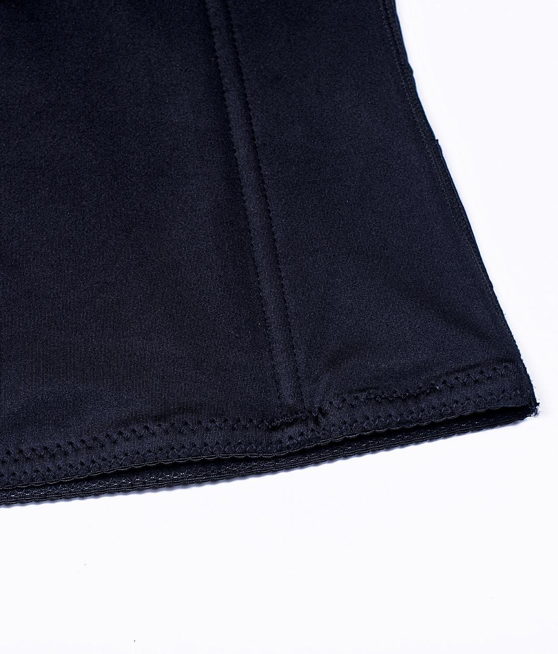 Gaine Ventre Plat Invisible Noire Packshot Detail 3