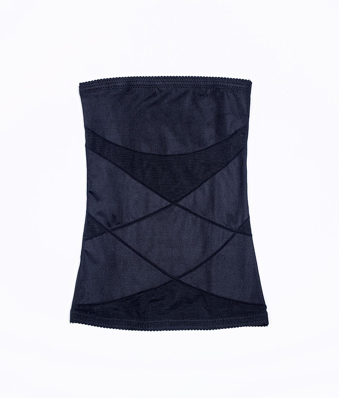 Gaine Ventre Plat Invisible Noire Packshot Front