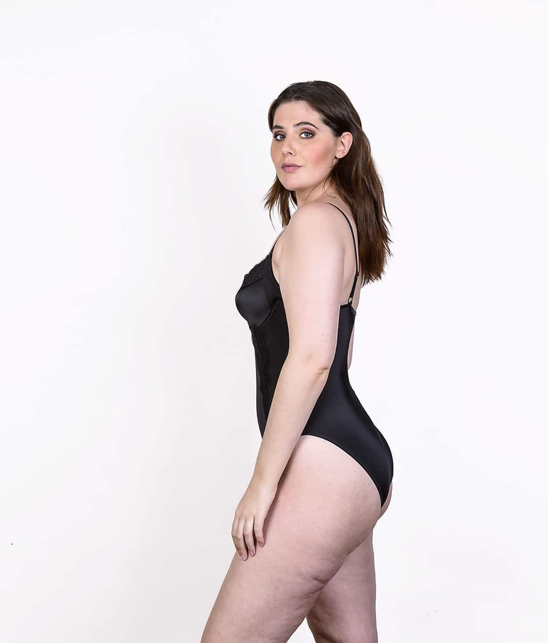Body Femme noir Profil
