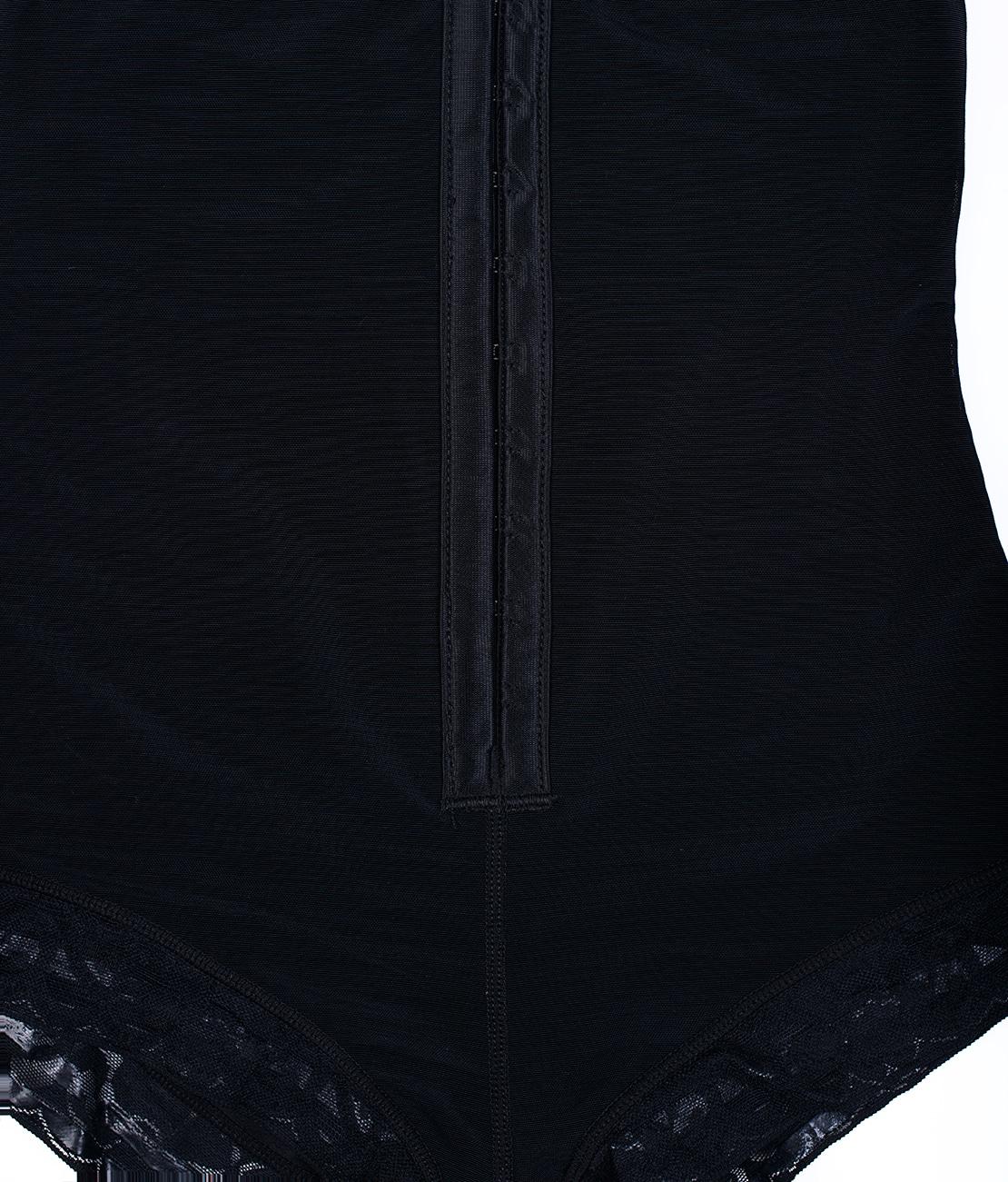 Combinaison Gainante Dentelle Noire Packshot Detail 1