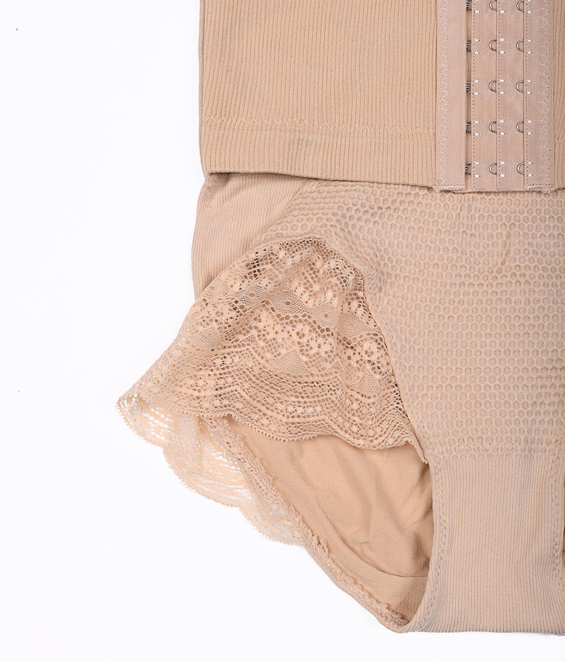 Culotte Push Up Beige Packshot Detail 1