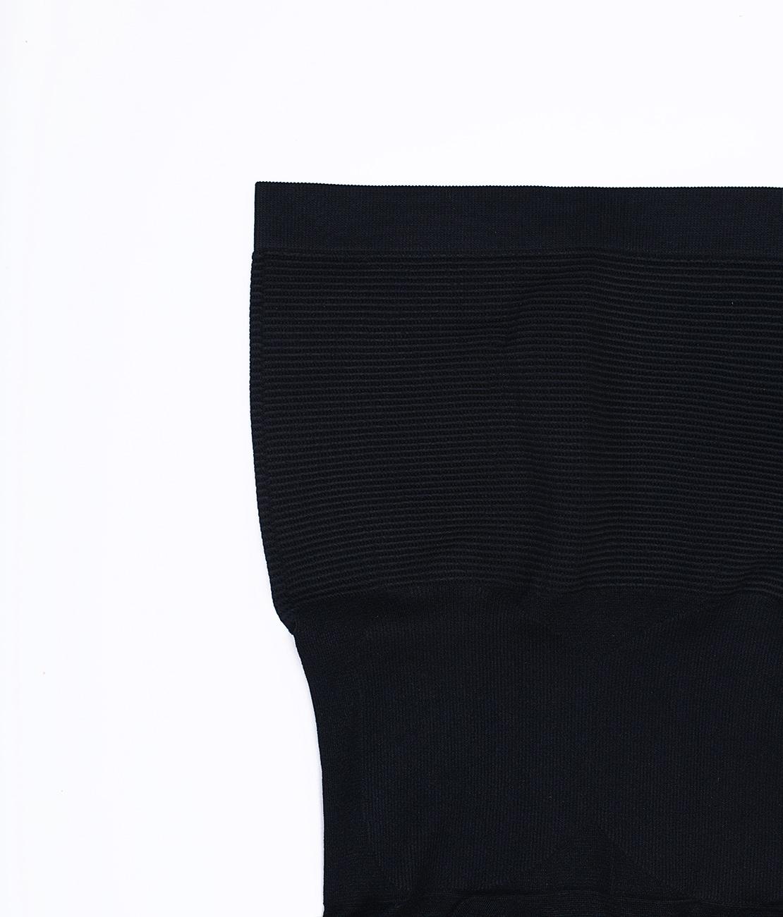 Culotte Ventre Plat et Top Sculptant Noire Packshot Culotte Detail 3