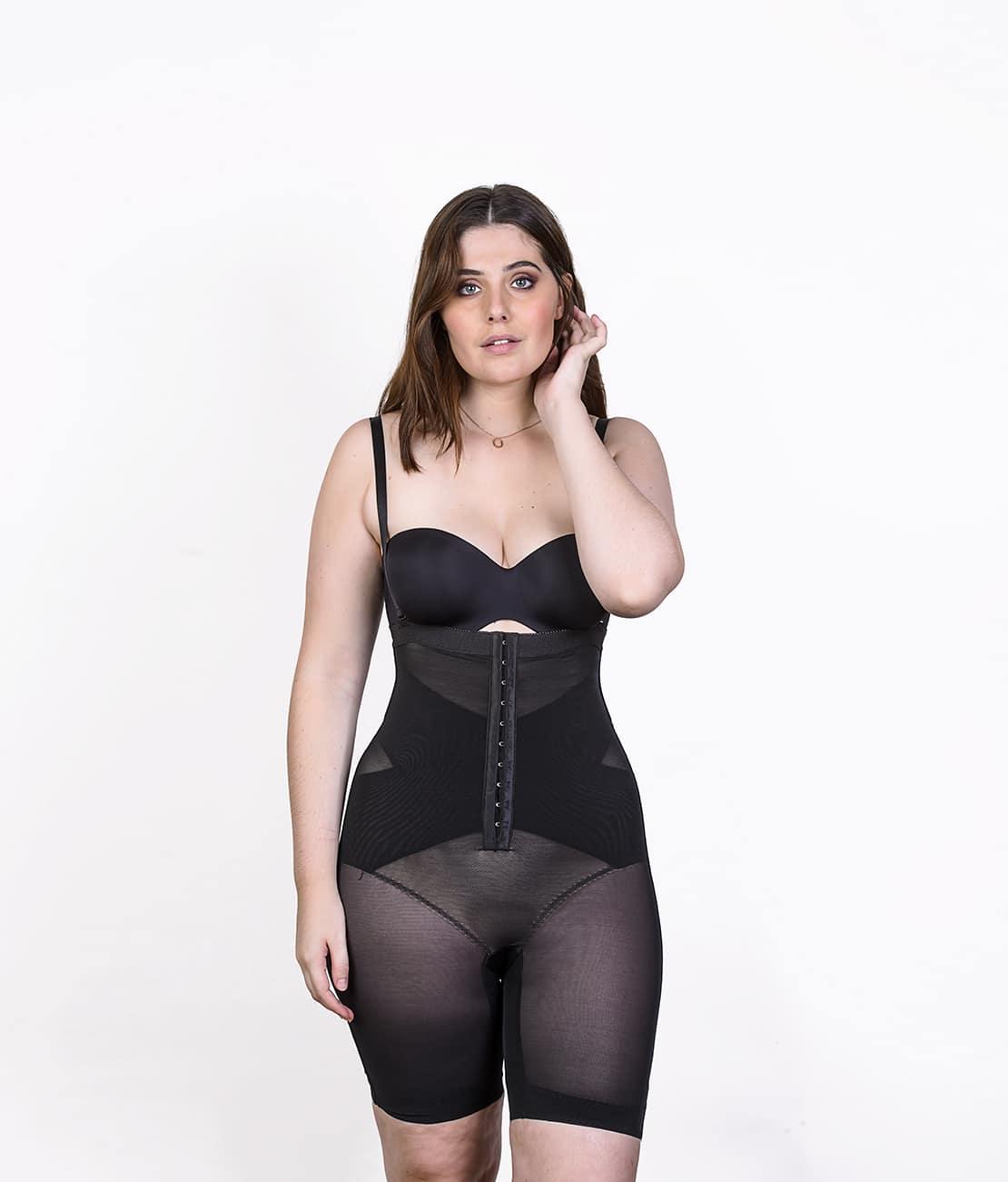 Le Panty Noir Transparent Face Main Visage