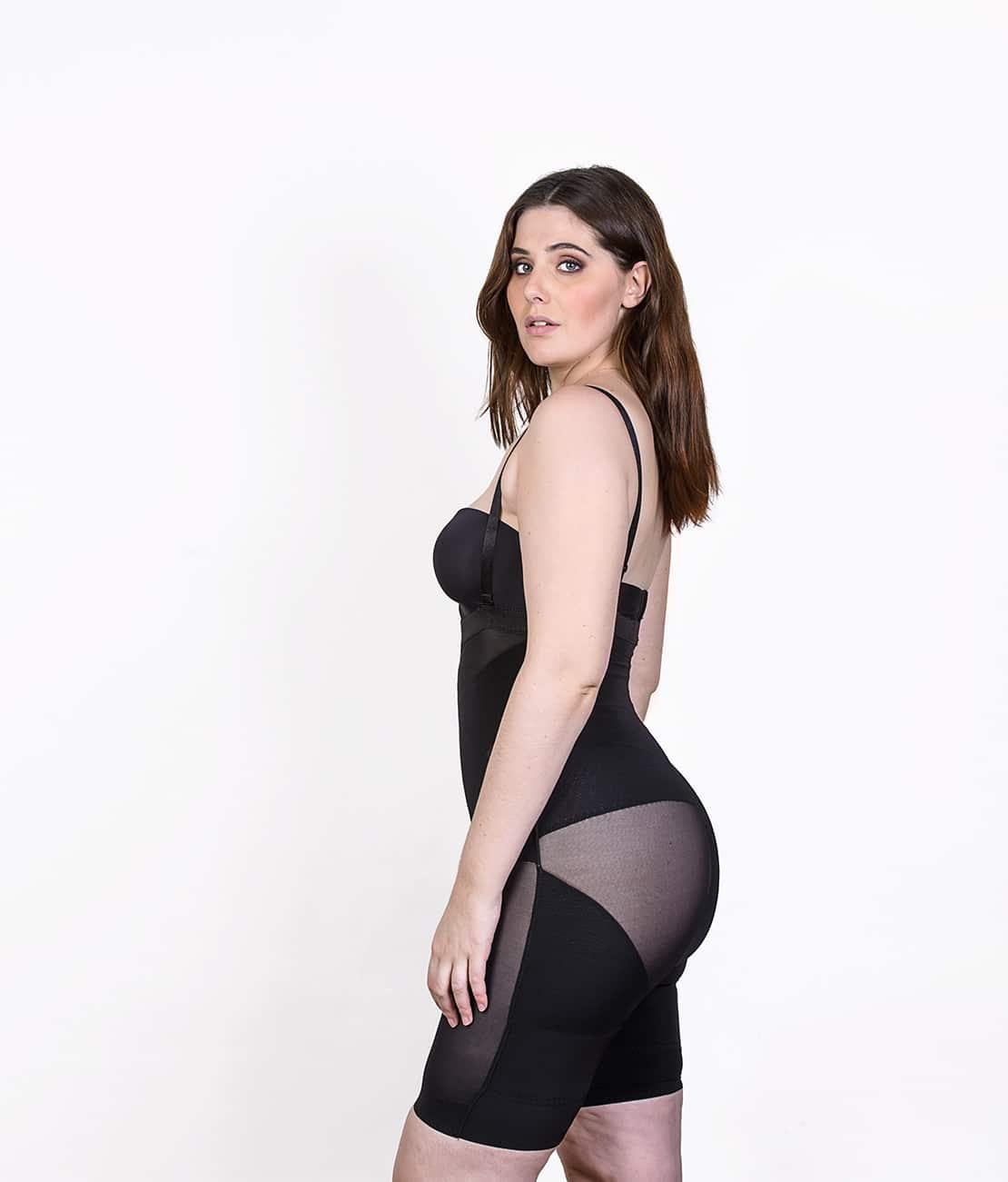 Le Panty Noir Transparent Profil