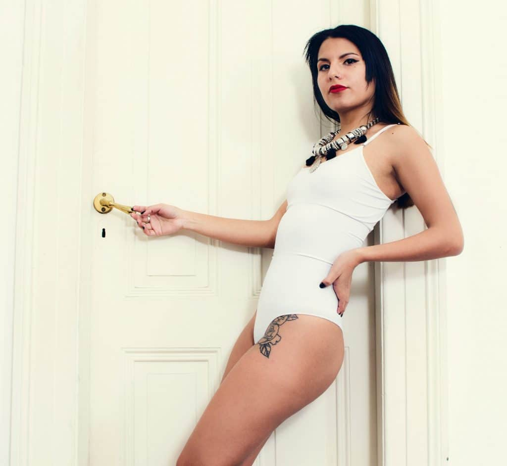 body femme blanc